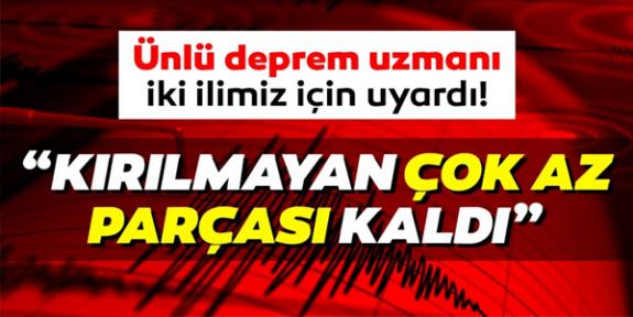 Deprem uzmanı Prof. Dr. Hasan Sözbilir'den Tekirdağ ve Balıkesir için uyarı