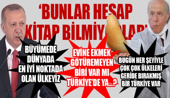 Erdoğan'dan Bahçeli'nin başlattığı askıda ekmek kampanyasına ilginç yorum: Ya böyle bir şey var mı Türkiye'de