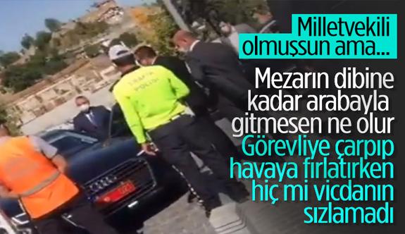 Erkan Haberal'ın şoförü aracıyla güvenlik görevlisine bilerek çarptı