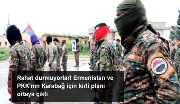 Ermenistan, Dağlık Karabağ'a getirdiği PKK'lı teröristlere Azerbaycan askeri üniforması giydirdi