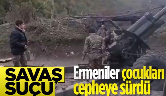 Ermenistan ordusu çocuk askerleri kullanıyor