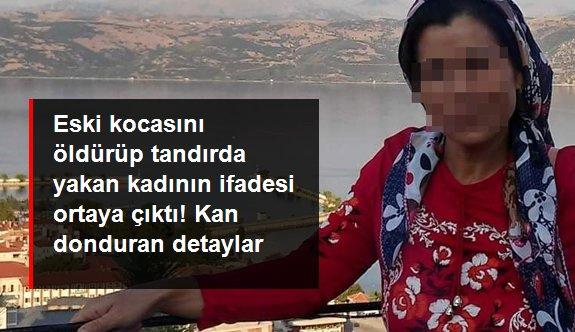 Eski kocasını öldürüp tandırda yakan kadın tutuklandı, ifadesinde cinayeti detaylarıyla anlattı
