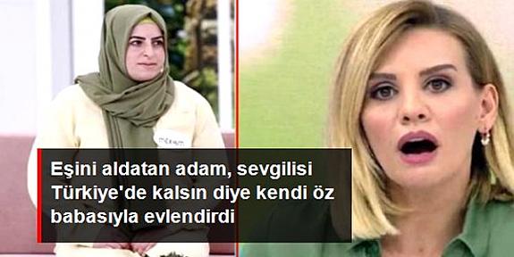 Esra Erol'dan yardım isteyen kadından şoke eden iddialar: Eşim, yabancı sevgilisiyle kendi öz babasına resmi nikah kıydırdı