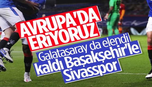 Glasgow Rangers'a yenilen Galatasaray Avrupa'ya veda etti