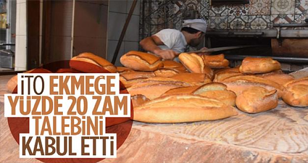 İstanbul Ticaret Odası, ekmeğe zam talebini 10 ay sonra kabul etti