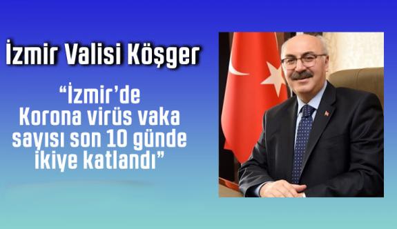 İzmir'de koronavirüs vaka sayısı son 10 günde ikiye katlandı