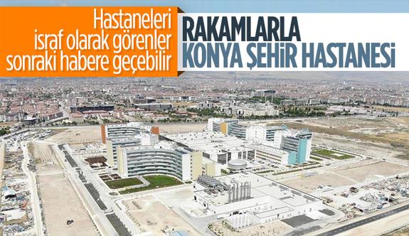 Konya Şehir Hastanesi'nin tüm özellikleri