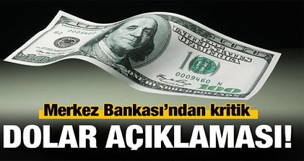 Merkez Bankası yılsonu Dolar tahminini açıkladı