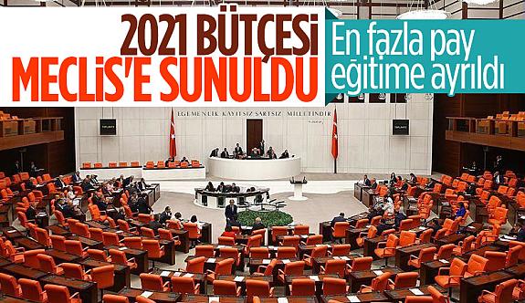 Merkezi Yönetim Bütçe Kanun Teklifi, TBMM Başkanlığına sunuldu