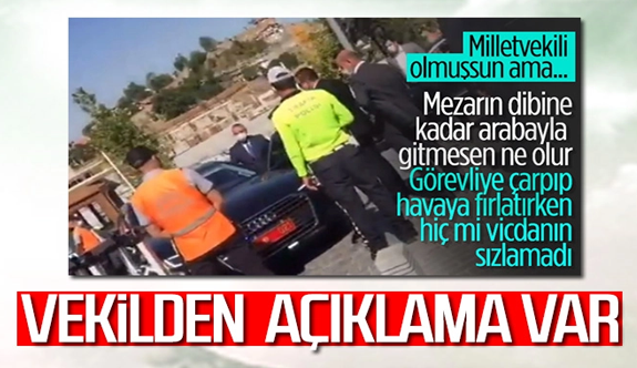 Şoförünün belediye personeline kasten çarptığı Erkan Haberal açıklama yaptı