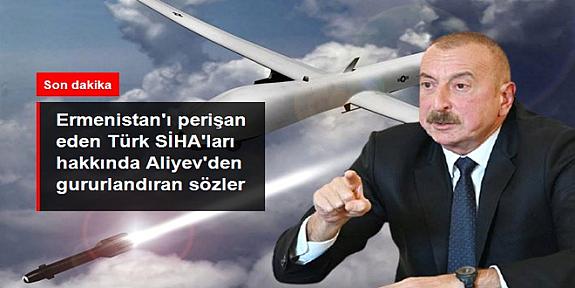 Son Dakika: Azerbaycan Cumhurbaşkanı İlham Aliyev: SİHA'lar olmasa çok fazla can kaybı olurdu