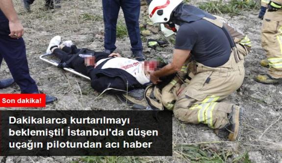 Son Dakika! Büyükçekmece'de düşen eğitim uçağını kullanan pilotaj öğrencisi hayatını kaybetti