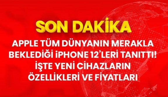 Son Dakika: İşte tanıtımı yapılan iPhone 12'lerin özellikleri ve fiyatları