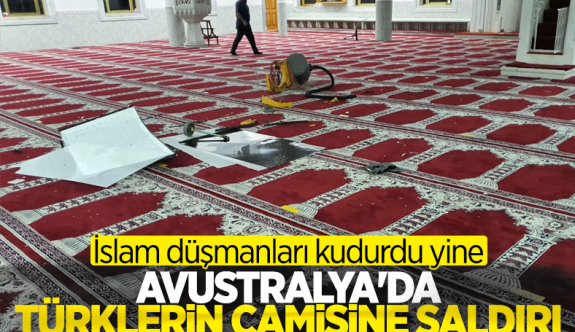 Sydney'de bulunan Türklere ait camiye saldırı