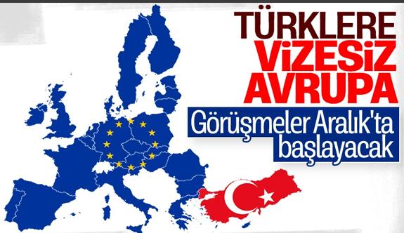 Türkiye ile Avrupa Birliği arasında vize serbestisi görüşmeleri başlayacak