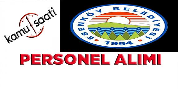 Yalova Esenköy Belediyesi 6 İşçi personel alımı yapacak iş başvurusu ve başvuru formu