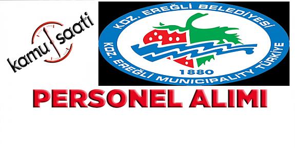 Zonguldak Ereğli Belediyesi 14  İşçi Personel alımı iş ilanları iş başvurusu ve başvuru formu