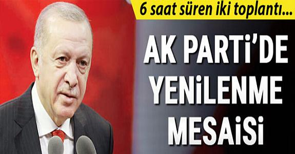'AK Parti Teşkilatında Yenilenme Mesaisi' haberine yalanlama