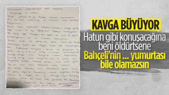Alaattin Çakıcı'dan Kılıçdaroğlu'na: Sen kurt ile çakalı karıştırıyorsun  Dedi Ortalık Baya karıştı!