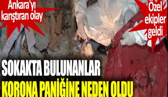 Ankara'da korona paniği! Molozların arasında bulundu