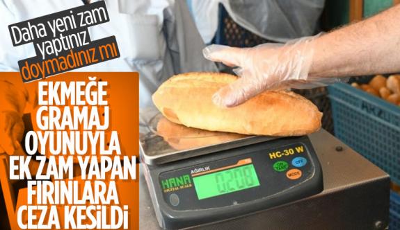 Bağcılar'da ekmeğe zam yapan fırınlara ceza kesildi