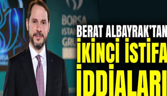 Berat Albayrak Yeni Görevinden de istifa etti!