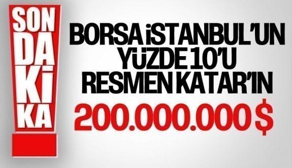 Borsa İstanbul'un yüzde 10'luk payının devir işlemi tamamlandı