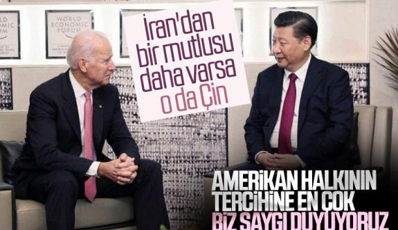 Çin, ABD başkanı seçilen Joe Biden'ı tebrik etti