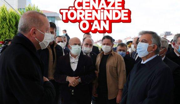 Cumhurbaşkanı Erdoğan, Mesut Yılmaz'ın cenaze törenine katıldı