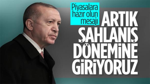 Cumhurbaşkanı Erdoğan: Ülkemiz şahlanış dönemine giriyor