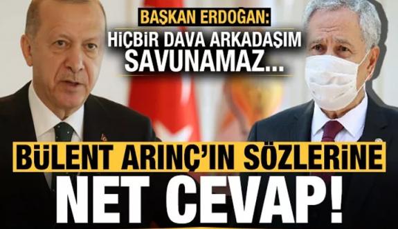 Cumhurbaşkanlığı'ndan Bülent Arınç'ın istifası ile ilgili açıklama!