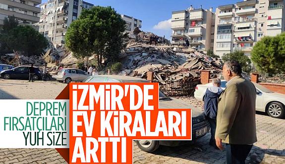 Deprem sonrası İzmir'de ev kiraları Uçtu