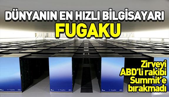 Dünyanın en hızlı bilgisayarı Japon yapımı Fugaku
