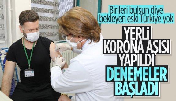 Erciyes Üniversitesi'nde geliştirilen korona aşısının insan denemeleri başladı