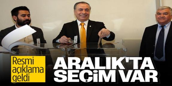 Galatasaray'da erken seçim kararı