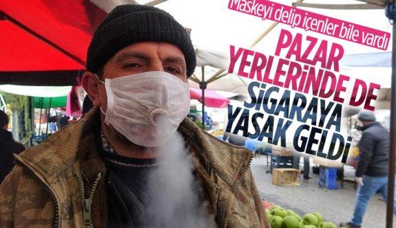 İstanbul'da pazar yerlerine sigara yasağı