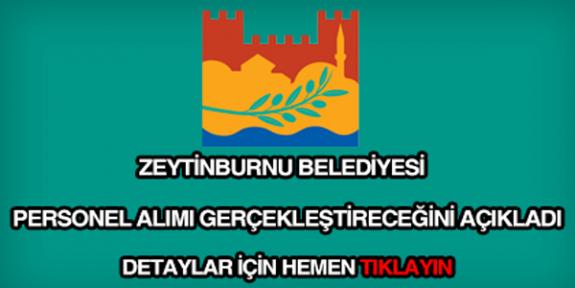 İstanbul Zeytinburnu Belediyesi 25 İşçi Alımı İlanı