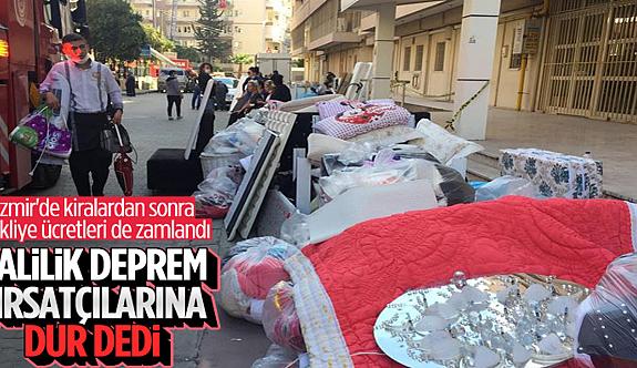 İzmir'de taşınma ücretleri belirlendi: En yüksek fiyat 2 bin lira