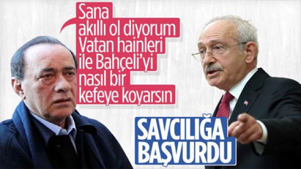 Kemal Kılıçdaroğlu Alaattin Çakıcı hakkında suç duyurusunda bulundu