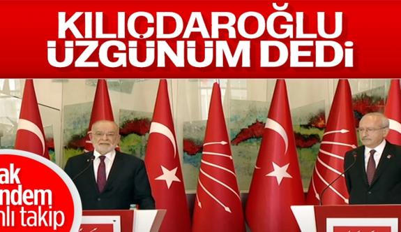 Kemal Kılıçdaroğlu ile Temel Karamollaoğlu'na Berat Albayrak sorusu