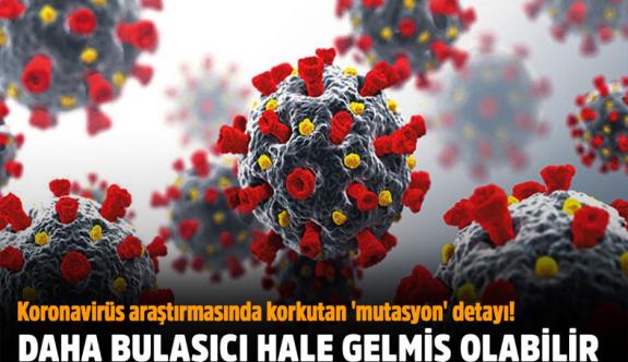 Koronavirüs araştırmasında korkunç detay! Daha bulaşıcı hale gelmiş olabilir