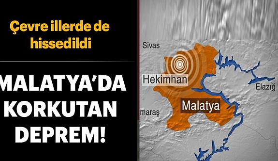 Malatya'da Tekrar deprem Paniği!