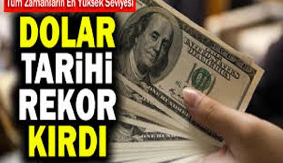 Son Dakika! Yeni haftaya rekor kırarak başlayan dolar 8,40 TL'den işlem görüyor