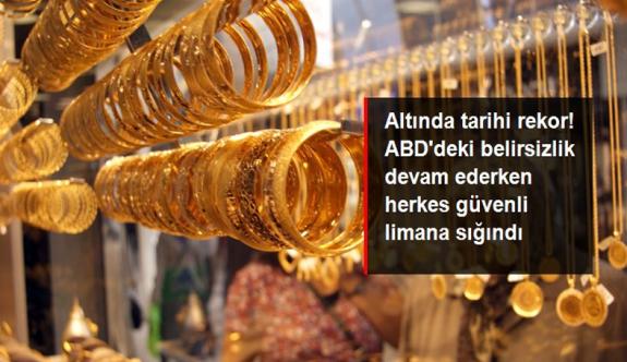 Son Dakika! Yükselişini sürdüren gram altın 531 liradan işlem görüyor