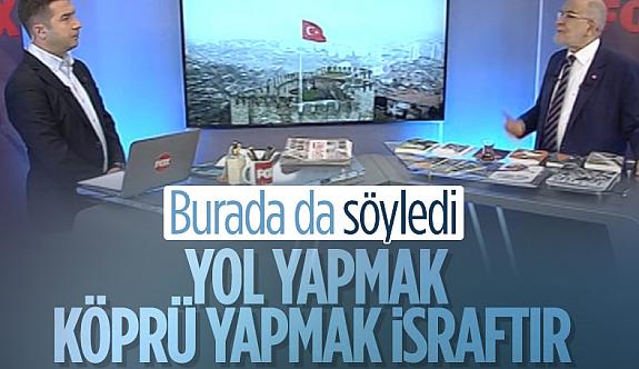 Temel Karamollaoğlu: Yatırım hizmetleri israftır