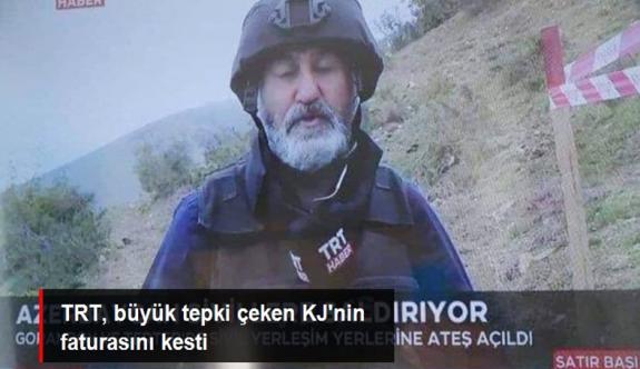 """TRT, """"Azerbaycan sivillere saldırıyor"""" KJ'sini yazan personelin işine son verdi"""
