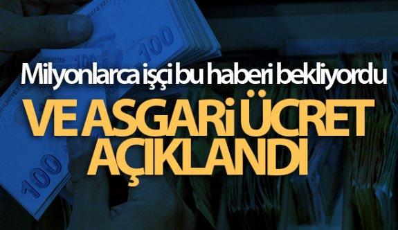 2021 yılında geçerli olacak Asgari ücret belli oldu!