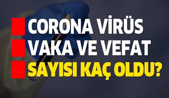 22 Aralık Salı Korona tablosu bugün ölüm ve vaka sayısı kaç? İşte bugünki Korona virüs Tablosu