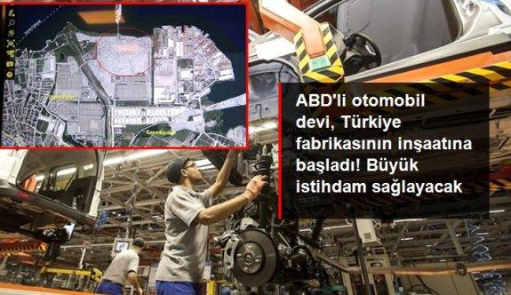 ABD'li otomobil devi Ford, Türkiye fabrikasının inşaatına başladı