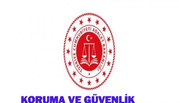 Adalet Bakanlığı 3.887 TL net ücretle 40 Koruma ve Güvenlik Görevlisi Alımı İlanı